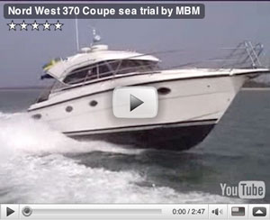 Nord West Coupe boat test video