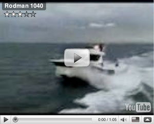 Rodman 104 boat test video