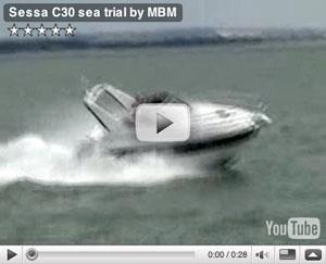 Sessa C30 boat test video