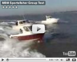 Sportsfisher group boat test video