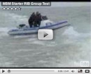 Starter RIB group boat test video