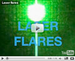 Laser Flares Video Review