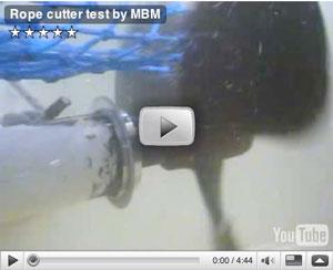 Rope Cutter Test Video