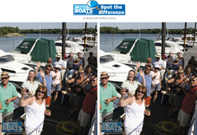 Spot the difference - pontoon party