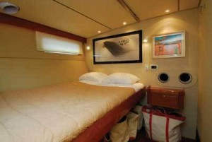 Simple but comfortable accommodation