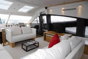 It may divide opinion but we loved it. Stylish, very comfortable and definitely new for the marine world