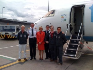 The Clayton brothers arrive in Ireland to meet up with Gee in Bangor