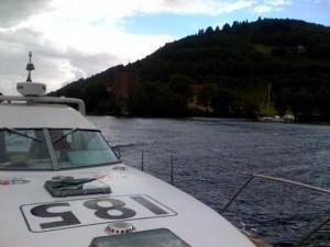 Gee on Loch Ness