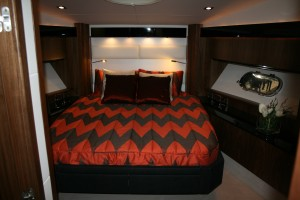 We love that VIP cabin too - a great boat all round from Sunseeker