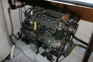 The engines have sensibly been kept at twin 100hp Yanmars