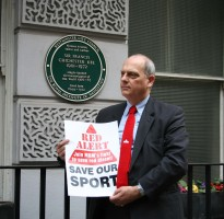 Giles Chichester, Son Of Sir Francis Chichester shows his support for MBM's Red Diesel Campaign