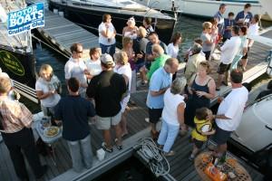 Pontoon Party Mercury Marina
