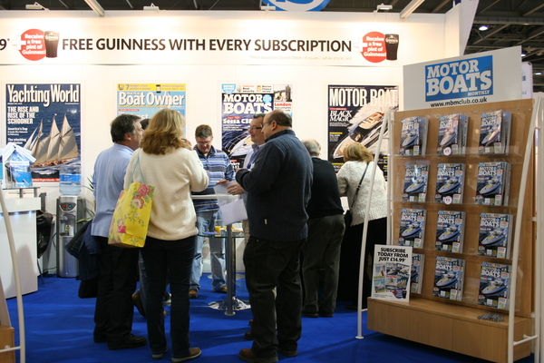 Cruising Club pontoon party at 2010 London Boat Show
