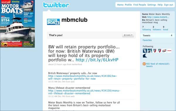 MBM joins Twitter