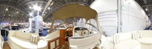 Interboat 28 cockpit