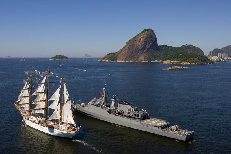 Mexican tall ship