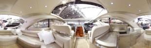 Sunseeker Portofino 48 cockpit
