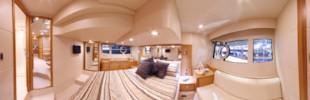 Sunseeker Portofino 48 owner's cabin