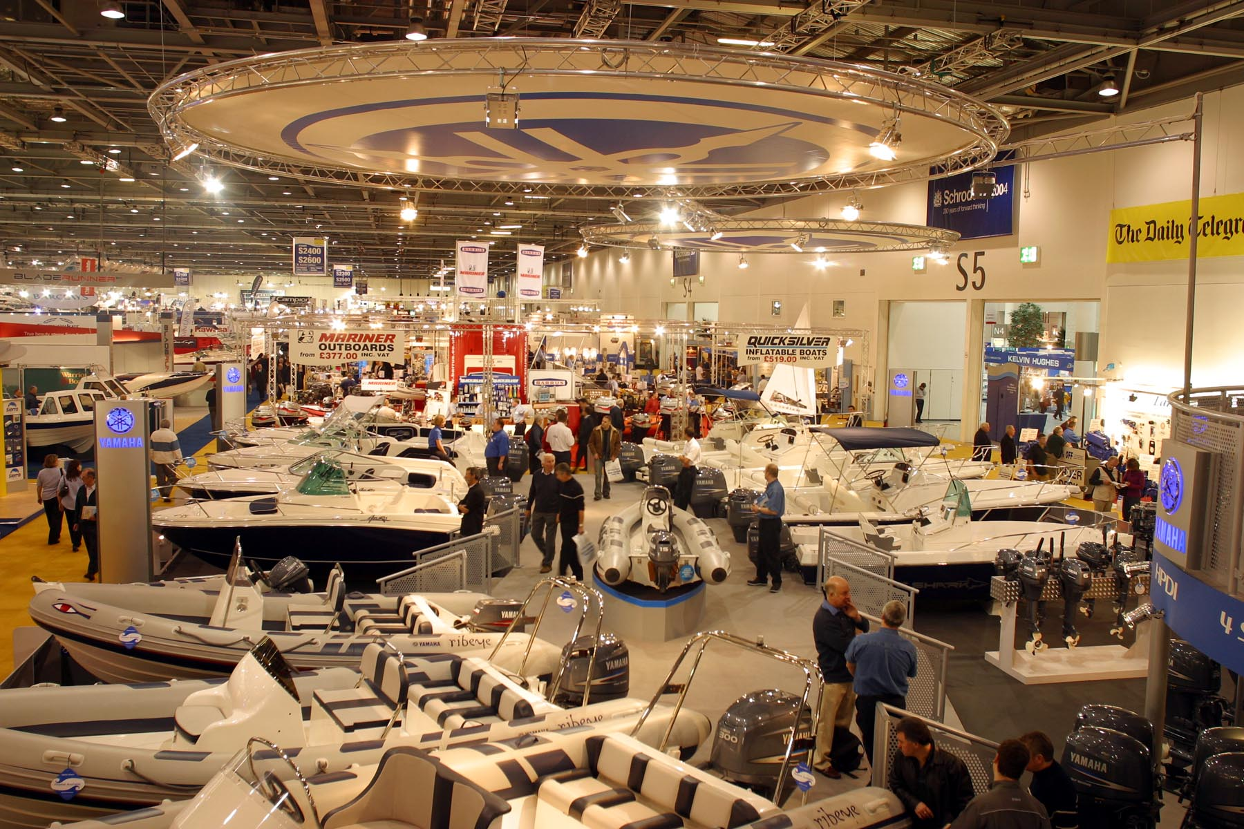 The London Boat Show and Outdoors Show will join forces