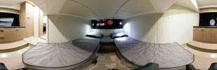 Sessa C38 master cabin