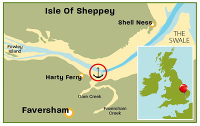 Harty Ferry in Kent | Top 25 Anchorages | Cruising guides | Motor Boats Monthly |