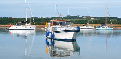 Newtown Creek on the Isle of Wight | Top 25 Anchorages: The South | Motor Boats Monthly |