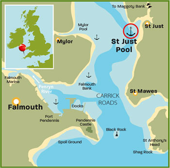 River Fal in Cornwall| Top 25 Anchorages: The South | Motor Boats Monthly |