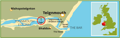 Teignmouth Estuary Devon | Top 25 Anchorages: The South | Motor Boats Monthly |