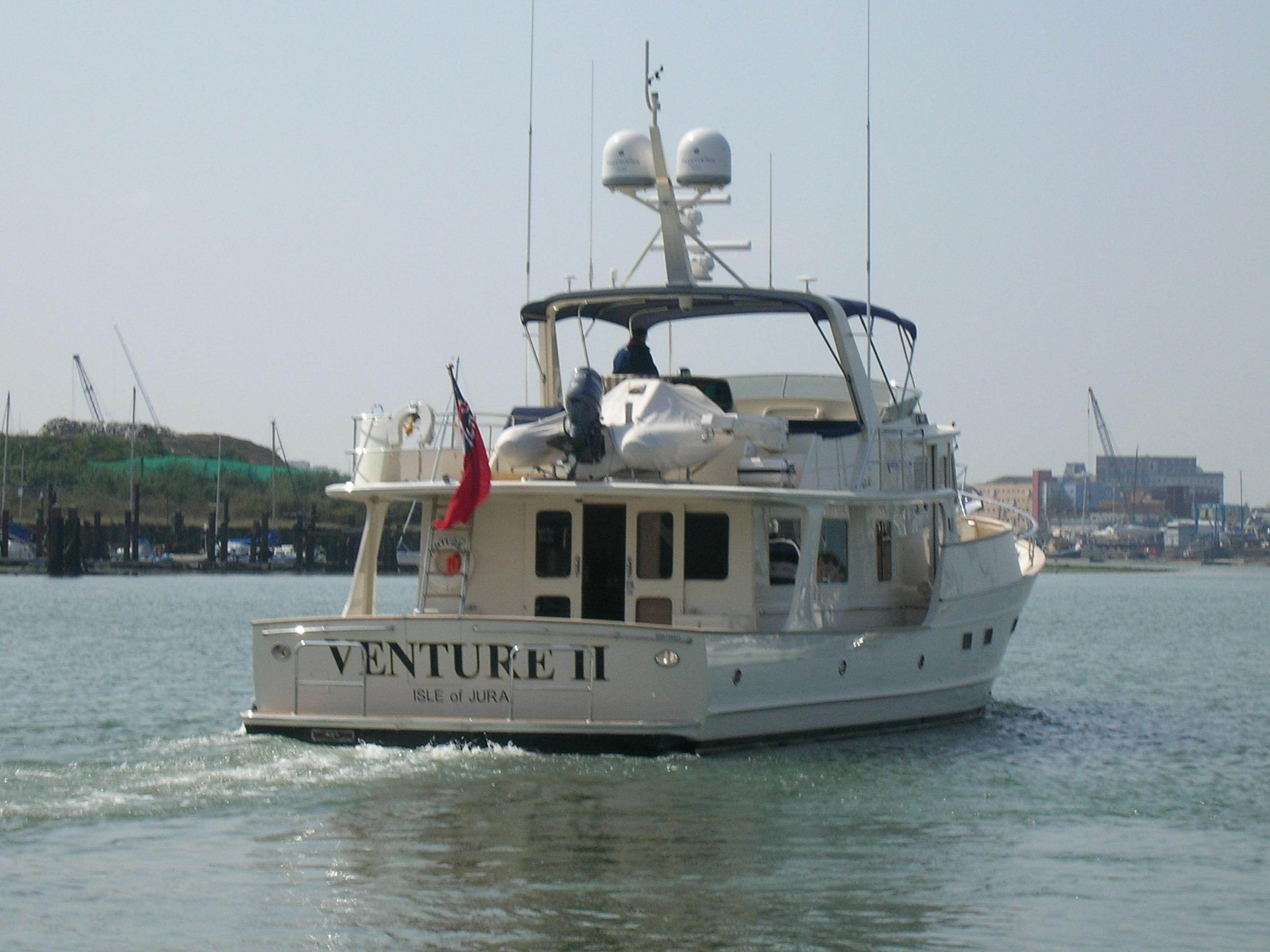 Tony Fleming Begins His Next Epic Voyage Motor Boat