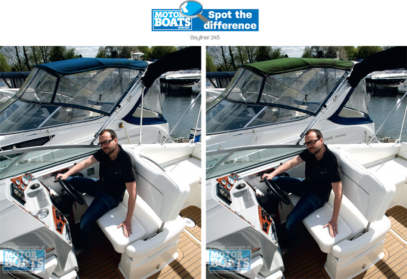Bayliner 245  | Spot the difference | Gallery | Motor Boats Monthly |