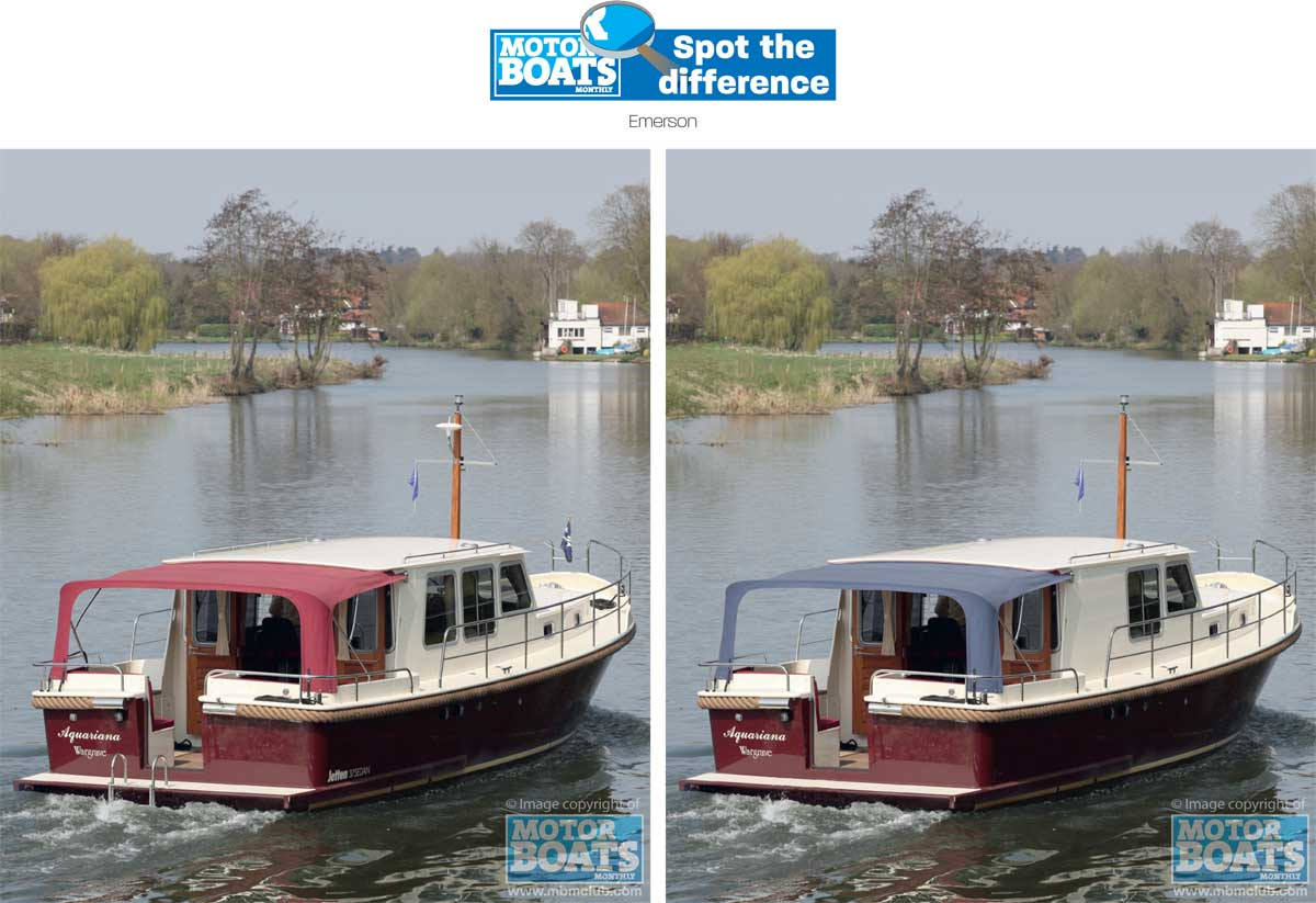 Emerson | Spot the difference | Motor Boats Monthly |