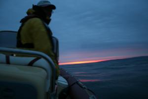 Day 5 Sunrise in the Alderney Race