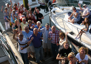 Day 6 MBM Fleet in St Heiler Marina, Jersey