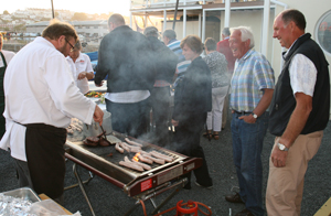 Day 7 BBQ at Guernsey Yacht Club