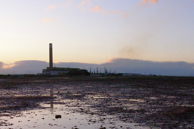 Fawley refinery and power station