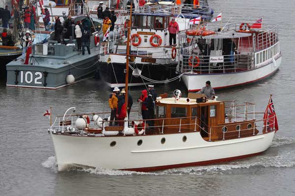 Little ships set sail for Dunkerque | Best boating photos 22 - 28 May 2010 | Motor Boats Monthly |