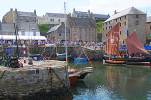 Portsoy traditional boat festival