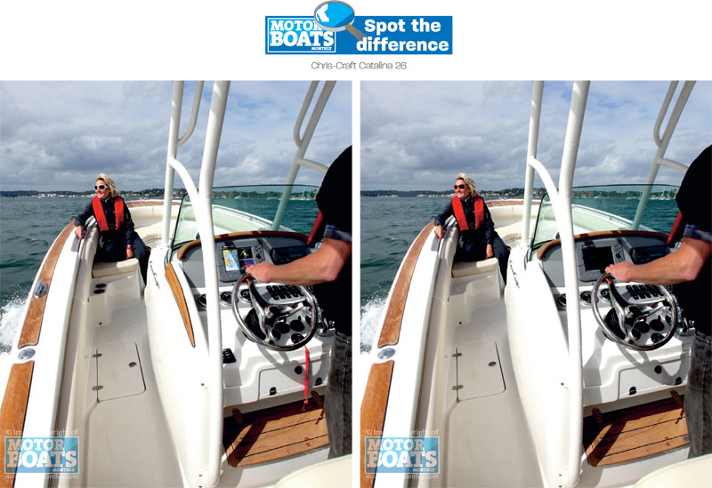 Chris Craft | Spot the difference | Motor Boats Monthly |