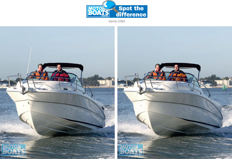 Karnic | Spot the difference | Motor Boats Monthly |