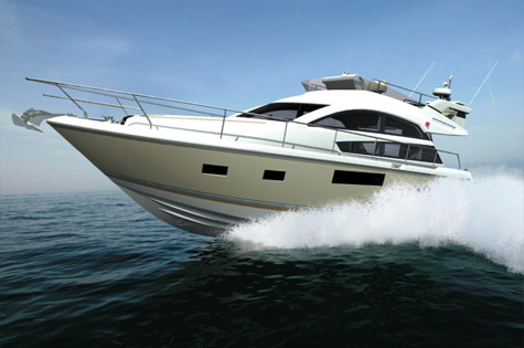 Fairline Squadron 41 flybridge