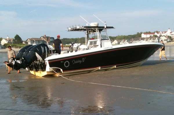 George Bush Hits Rock Bottom Motor Boat Amp Yachting