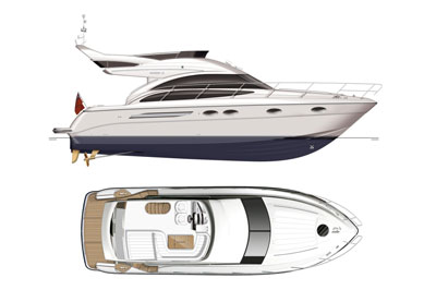 Princess 42 flybridge | News | Motor Boats Monthly |