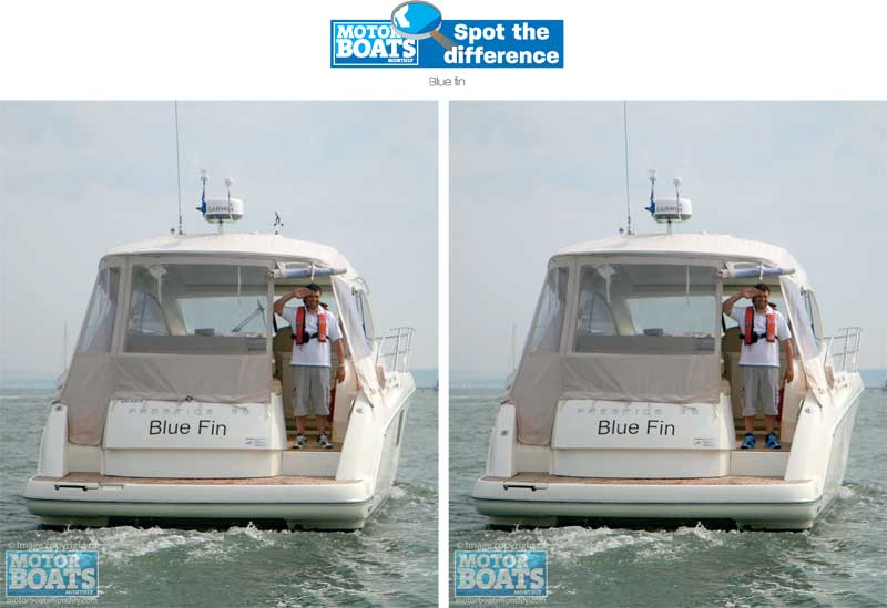 Blue Fin | Spot the difference gallery | Motor Boats Monthly |
