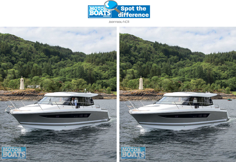 Jeanneau NC11 | Spot the Difference | Motor Boats Monthly |