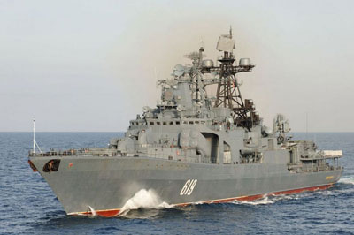 Severomorsk Russian warship