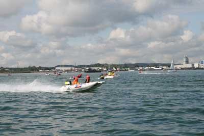 Powerboat display
