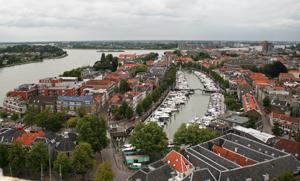 Day 10 View over Nieuwe Haven Dordrecht