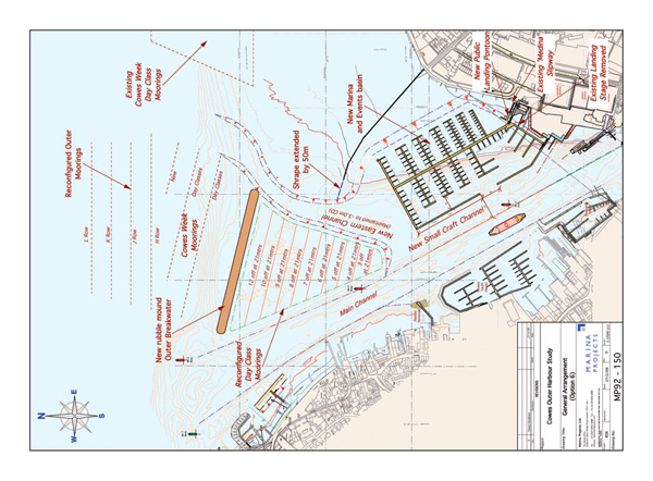 Cowes Outer Harbour Plan