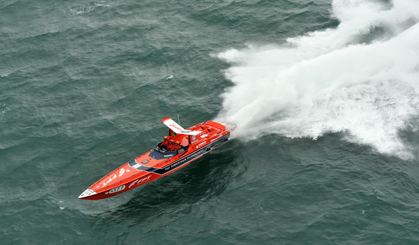 Motor Boat & Yachting | Red FPT