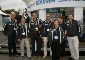 The MBM team is out in force - PSP Southampton Boat Show